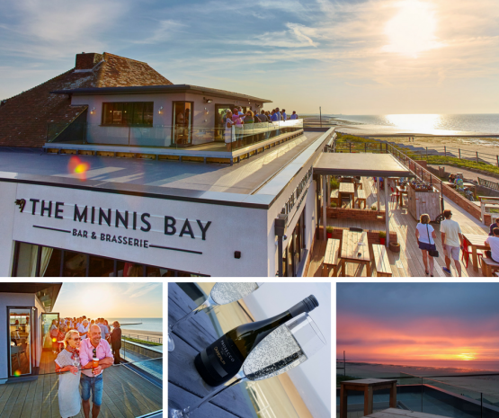 Paella and Prosecco Sundowner Evenings at The Minnis